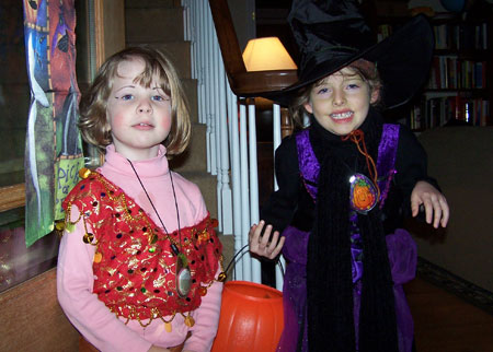 Small gypsy, and a witch with the flu.