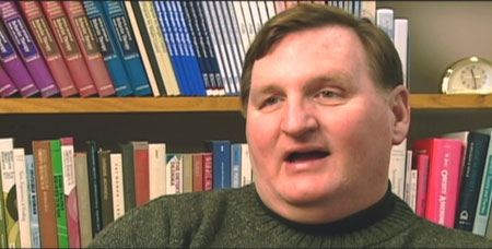 Kelly Brownell, the obesity expert at Yale, who thinks these menus will make you eat less.  Please note hes obviously obese.  Why doesnt he simply eat less?