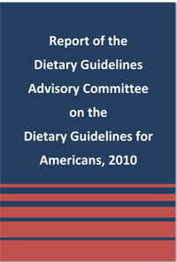 After finishing a big programming project this weekend, I spent a good  chunk of today reading the last big section of the 2010 Dietary Guidelines,  ...