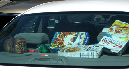 Someone elses idea of road food.